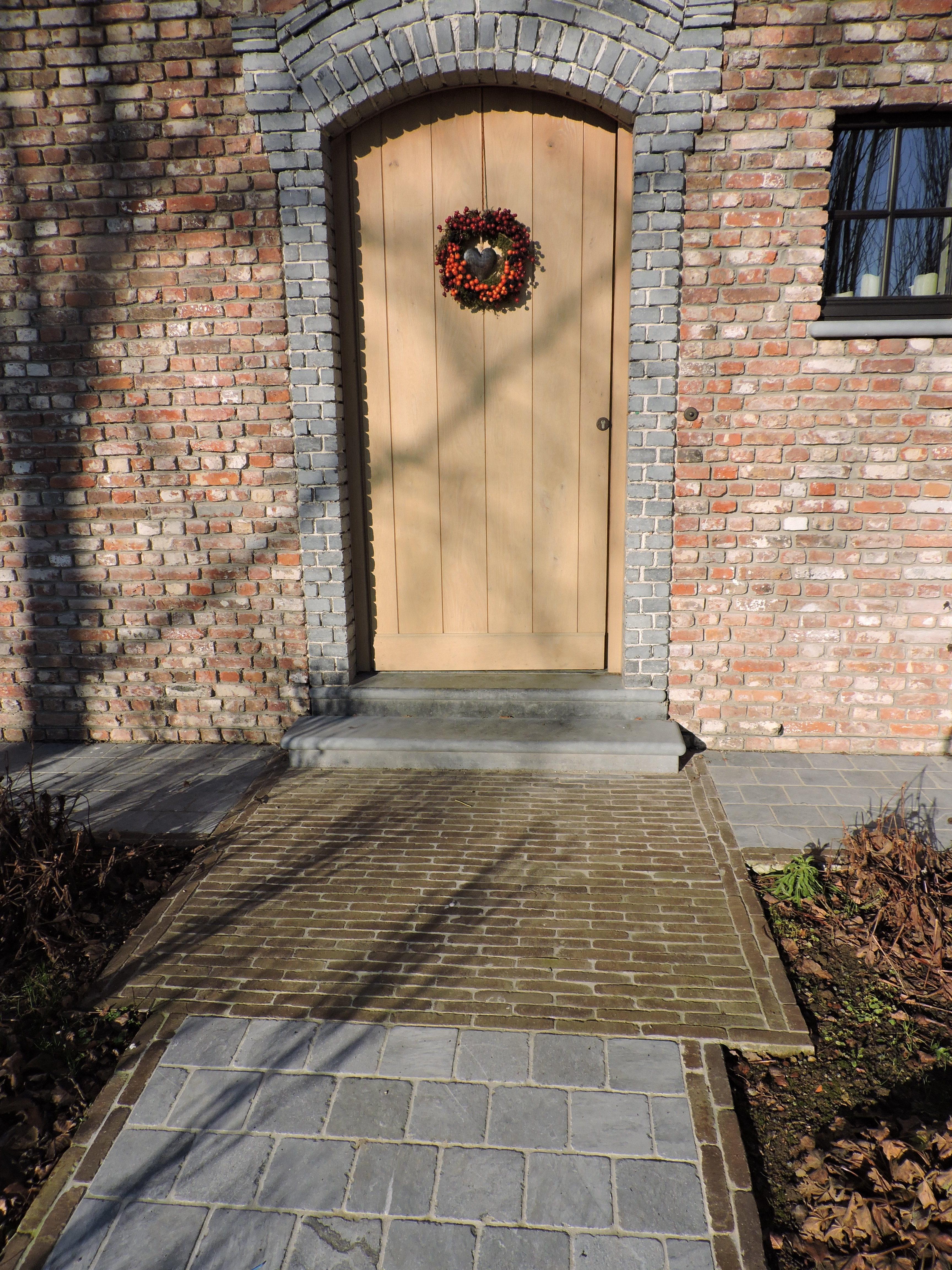 pad naar voordeur combinatie arduin kleiklinkers