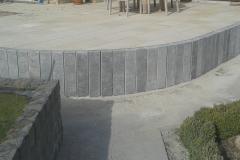 terras palissades graniet