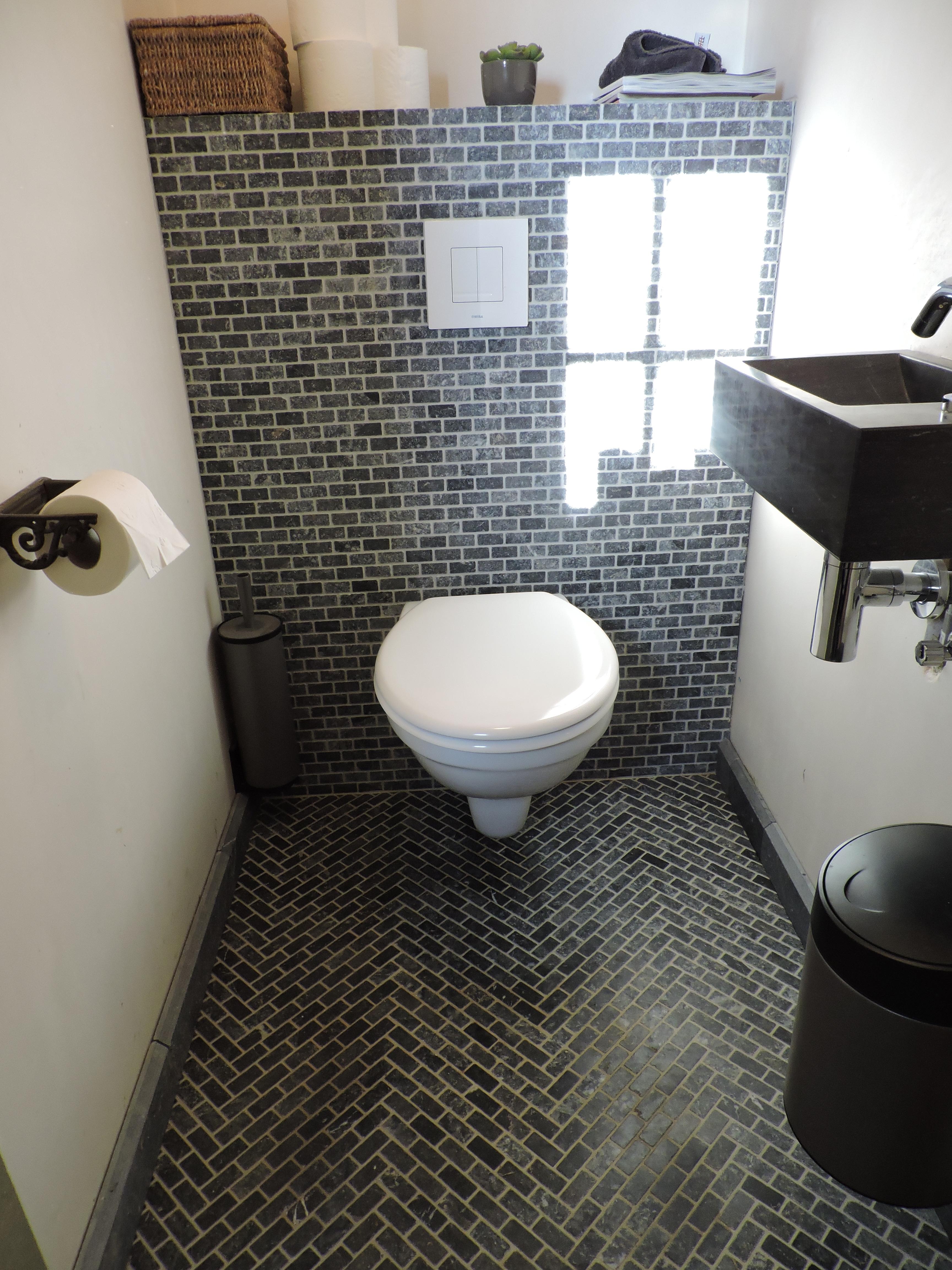 tegels arduin mozaïek toilet